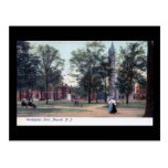 Washington Park, Newark NJ 1906 Vintage Postcard