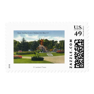 Washington Park View of the Kings Fountain, Stamps
