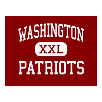 Washington - Patriots - High - Tacoma Washington Postcard
