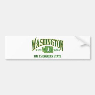 Washington Pegatina Para Auto