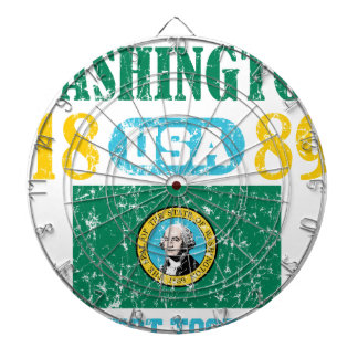 WASHINGTON PERFECT TOGETHER DISTRESSED PRODUCTS DART BOARDS