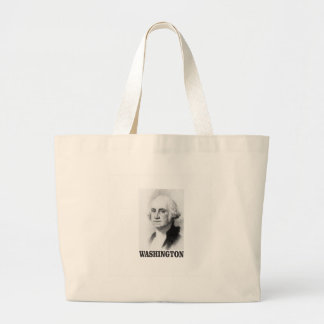 Washington pose large tote bag