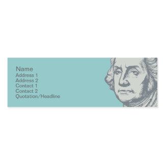 Washington Profile Cards Business Card