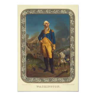 "Washington publicó por P.S. Duval en 1851 Invitación 3.5"" X 5"""
