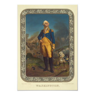 Washington Published by P.S. Duval in 1851 Card