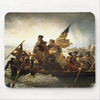Washington que cruza el Delaware - 1851 Alfombrillas De Ratón