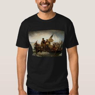 Washington que cruza el Delaware - 1851 Poleras