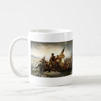 Washington que cruza el Delaware - 1851 Taza