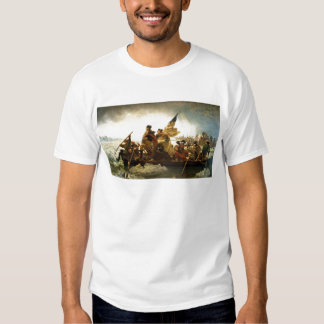 Washington que cruza el Delaware de Manuel Leutze Camisas