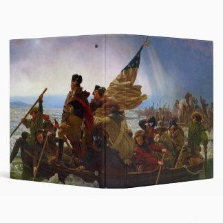 "Washington que cruza el Delaware de Manuel Leutze Carpeta 1"""