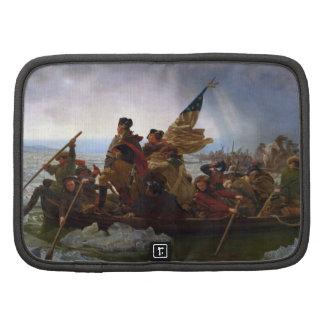 Washington que cruza el Delaware de Manuel Leutze Organizadores