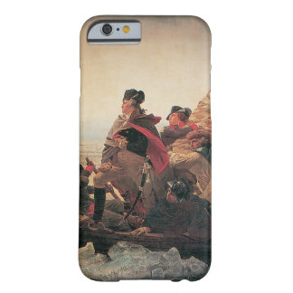 Washington que cruza el Delaware de Manuel Leutze Funda De iPhone 6 Barely There