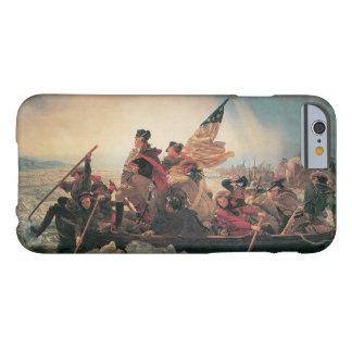Washington que cruza el Delaware de Manuel Leutze Funda Barely There iPhone 6