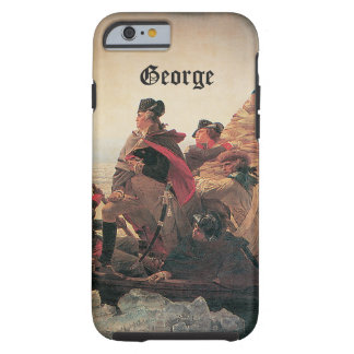 Washington que cruza el Delaware de Manuel Leutze Funda Para iPhone 6 Tough