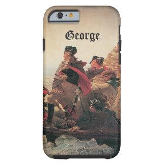 Washington que cruza el Delaware de Manuel Leutze Funda Resistente iPhone 6