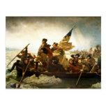 Washington que cruza el Delaware de Manuel Leutze Tarjetas Postales