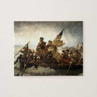 Washington que cruza el Delaware - el Leutze (1851 Rompecabeza Con Fotos