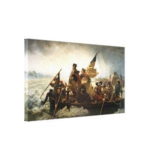 Washington que cruza el Delaware Impresiones En Lona Estiradas