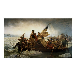 Washington que cruza el Delaware Impresiones