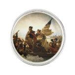 Washington que cruza el Delaware Pin