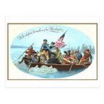 Washington que cruza el Delaware Postal