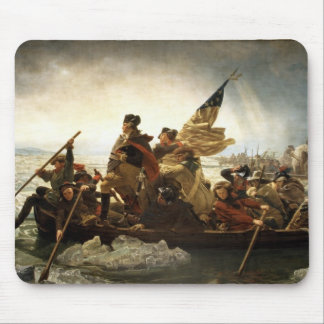 Washington que cruza el Delaware Tapetes De Raton