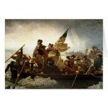Washington que cruza el Delaware Tarjeta De Felicitación