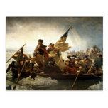 Washington que cruza el Delaware Tarjetas Postales