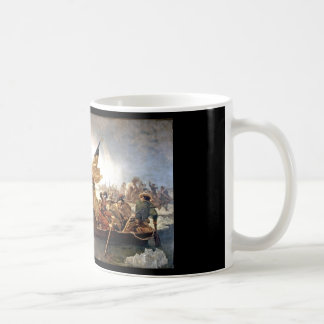 Washington que cruza el Delaware Tazas De Café