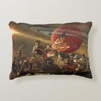 Washington que cruza el universo cojín decorativo
