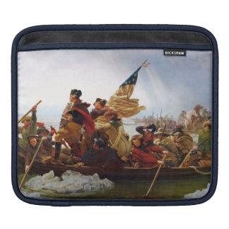 Washington que cruza la manga del iPad de Delaware Fundas Para iPads