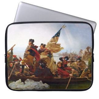 Washington que cruza la manga del ordenador portát manga portátil