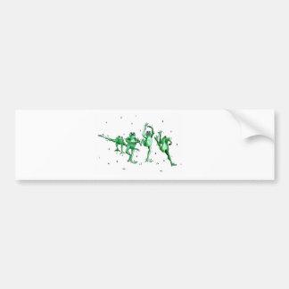 Washington Rain Dance Bumper Sticker