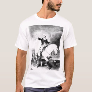 Washington Receiving a Salute _War Image T-Shirt