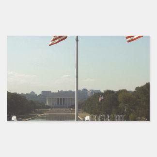 Washington Rectangular Sticker