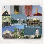 Washington, recuerdo Mousepad de la foto de DC Alfombrillas De Raton
