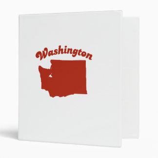 WASHINGTON Red State Binders