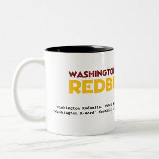 Washington Redbulls Coffee Cup Coffee Mugs