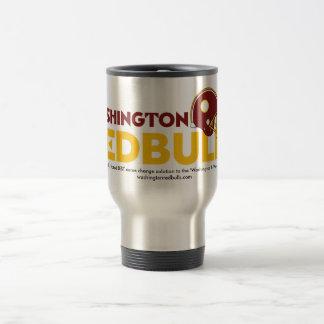 Washington Redbulls Stainless Steel Travel Mug