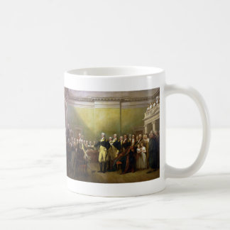 Washington Resigning his Commission John Trumbull Classic White Coffee Mug
