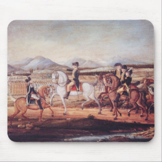 Washington Reviewing the Western Army Mouse Pad