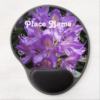 Washington Rhododendron Gel Mouse Pad