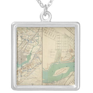 Washington, Richmond Silver Plated Necklace