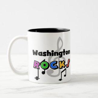 Washington Rocks Two-Tone Coffee Mug