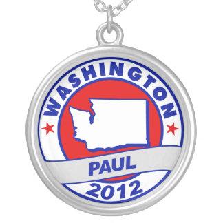 Washington Ron Paul Personalized Necklace