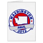 Washington Ron Paul Tarjetas