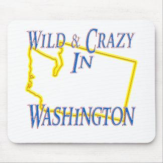 Washington - salvaje y loco alfombrilla de ratones
