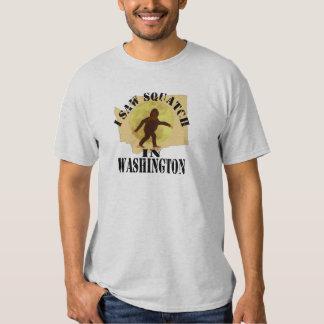 Washington Sasquatch Bigfoot Spotter - I Saw Him T-Shirt