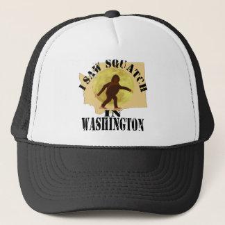 Washington Sasquatch Bigfoot Spotter - I Saw Him Trucker Hat