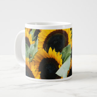 Washington, Seattle, Sunflower for sale pike Large Coffee Mug